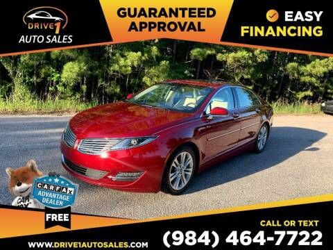 2014 Lincoln MKZ Hybrid for sale at Drive 1 Auto Sales in Wake Forest NC