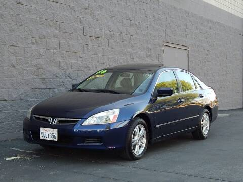 2006 Honda Accord for sale at Gilroy Motorsports in Gilroy CA