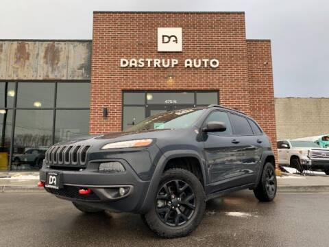 2016 Jeep Cherokee for sale at Dastrup Auto in Lindon UT