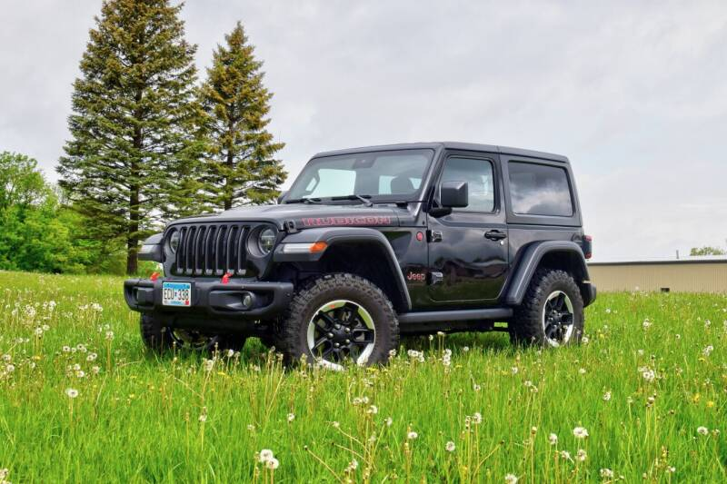 2020 Jeep Wrangler for sale at Hooked On Classics in Watertown MN