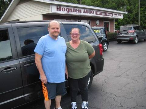 2016 Dodge Grand Caravan for sale at HOGSTEN AUTO WHOLESALE in Ocala FL