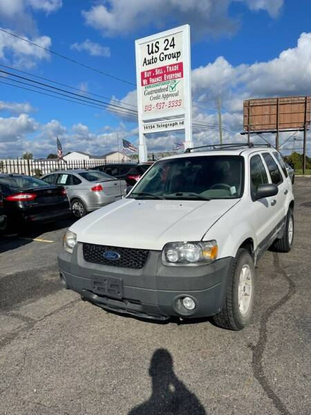 2007 Ford Escape for sale at US 24 Auto Group in Redford MI