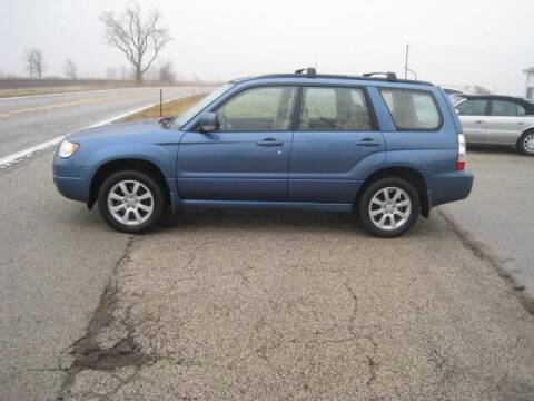 2008 Subaru Forester for sale at BEST CAR MARKET INC in Mc Lean IL