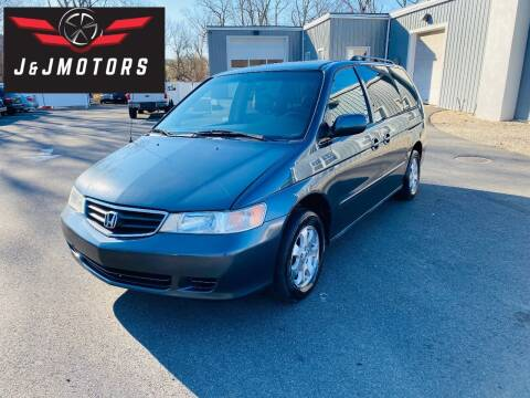 2004 Honda Odyssey for sale at J & J MOTORS in New Milford CT