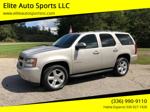 2008 Chevrolet Tahoe for sale at Elite Auto Sports LLC in Wilkesboro NC