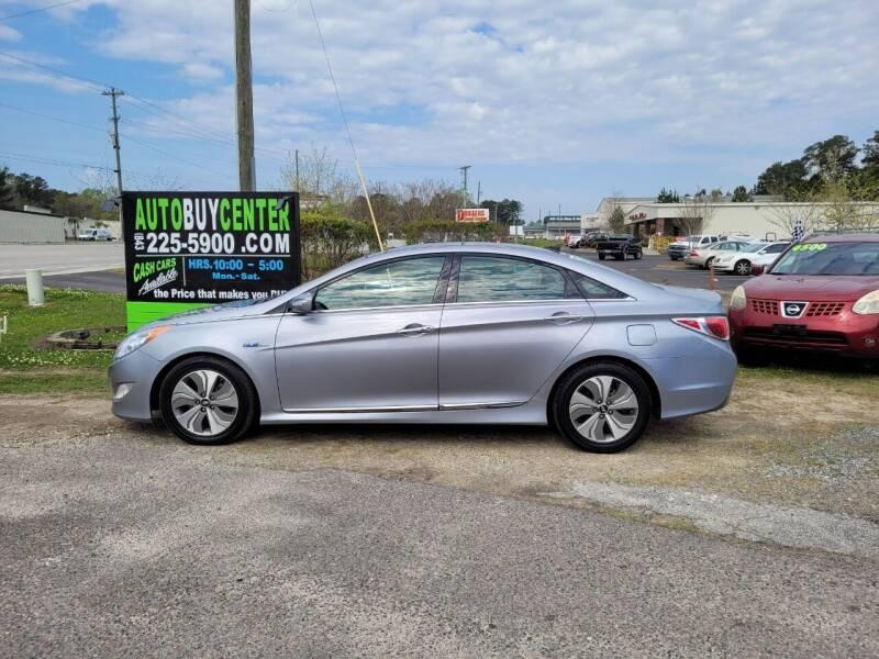 2015 Hyundai Sonata Hybrid for sale at AutoBuyCenter.com in Summerville SC