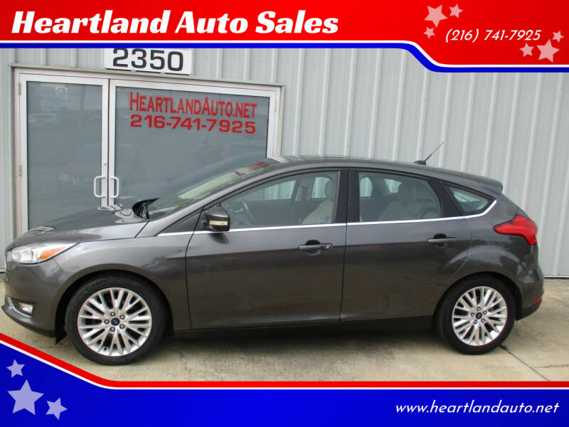 2015 Ford Focus for sale at Heartland Auto Sales in Medina OH