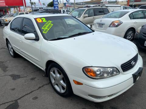 2002 Infiniti I35 for sale at North County Auto in Oceanside CA