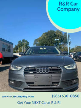 2013 Audi A4 for sale at R&R Car Company in Mount Clemens MI
