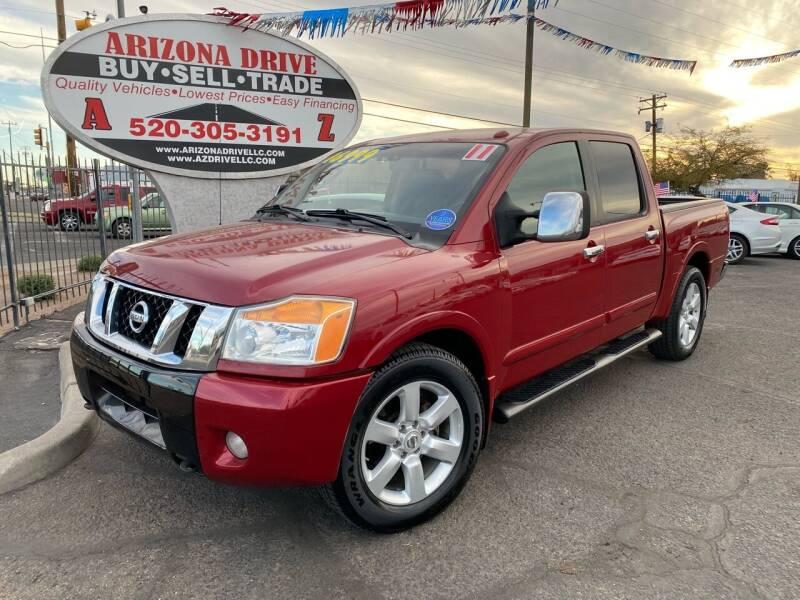 2011 Nissan Titan for sale at Arizona Drive LLC in Tucson AZ