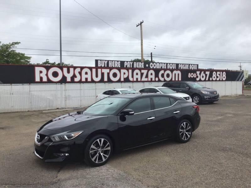 2017 Nissan Maxima for sale at Roy's Auto Plaza in Amarillo TX