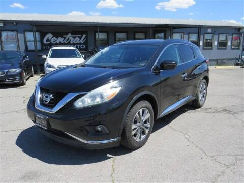 2016 Nissan Murano for sale at Central Auto in South Salt Lake UT