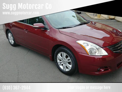 2011 Nissan Altima for sale at Sugg Motorcar Co in Boyertown PA