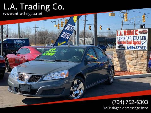 2009 Pontiac G6 for sale at L.A. Trading Co. Woodhaven in Woodhaven MI