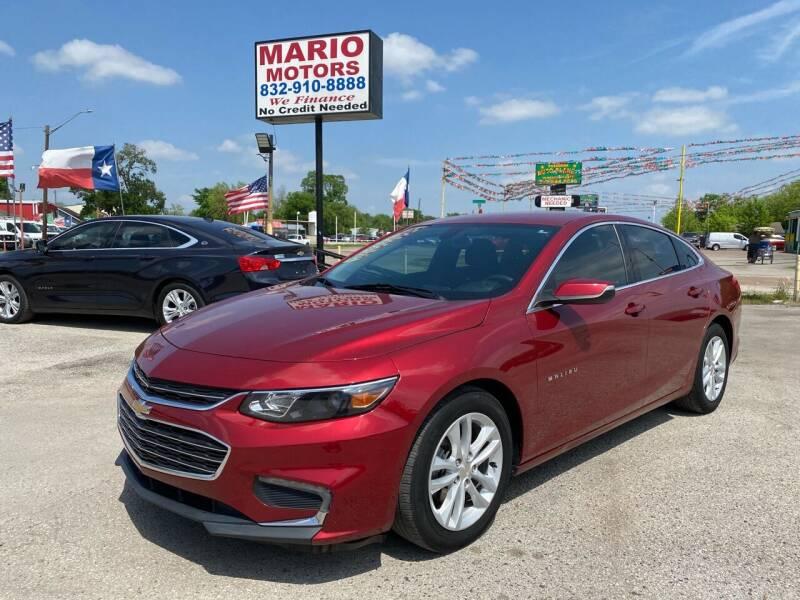 2017 Chevrolet Malibu for sale at Mario Motors in South Houston TX