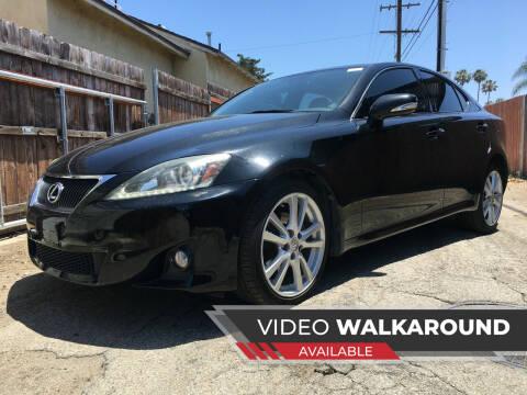 2012 Lexus IS 250 for sale at Auto Max of Ventura in Ventura CA