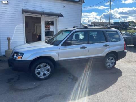 2005 Subaru Forester for sale at Car VIP Auto Sales in Danbury CT