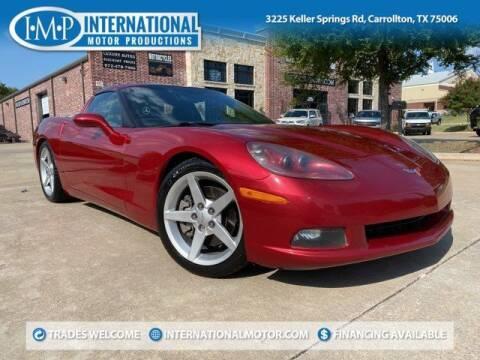 2005 Chevrolet Corvette for sale at International Motor Productions in Carrollton TX