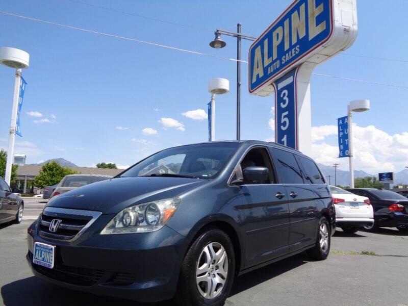2006 Honda Odyssey for sale at Alpine Auto Sales in Salt Lake City UT