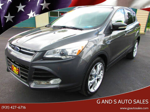 2015 Ford Escape for sale at G and S Auto Sales in Ardmore TN