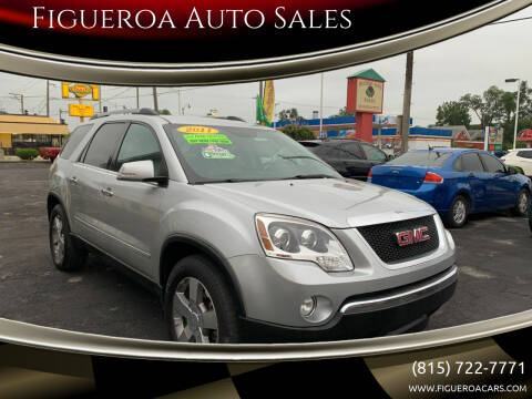 2011 GMC Acadia for sale at Figueroa Auto Sales in Joliet IL