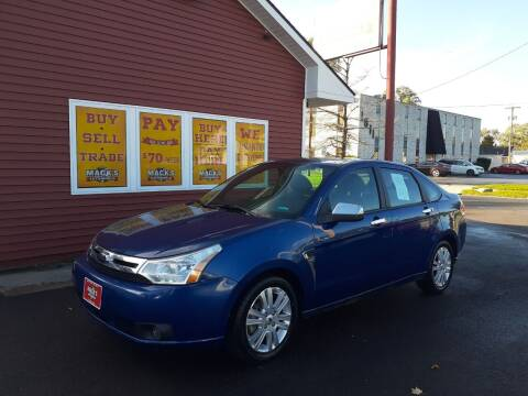 2009 Ford Focus for sale at Mack's Autoworld in Toledo OH