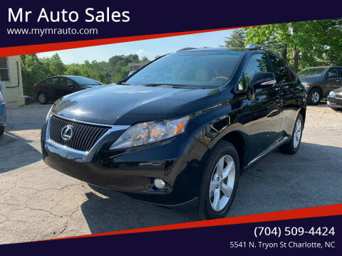 2012 Lexus RX 350 for sale at Mr Auto Sales in Charlotte NC