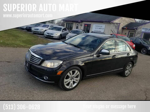 2009 Mercedes-Benz C-Class for sale at SUPERIOR AUTO MART in Amelia OH