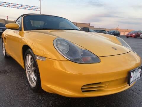 2003 Porsche Boxster for sale at VIP Auto Sales & Service in Franklin OH