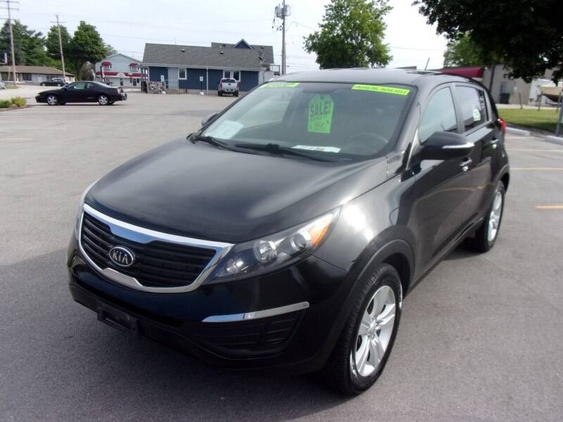 2012 Kia Sportage for sale at Ideal Auto Sales, Inc. in Waukesha WI