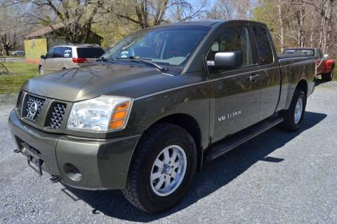 2005 Nissan Titan for sale at Victory Auto Sales in Randleman NC