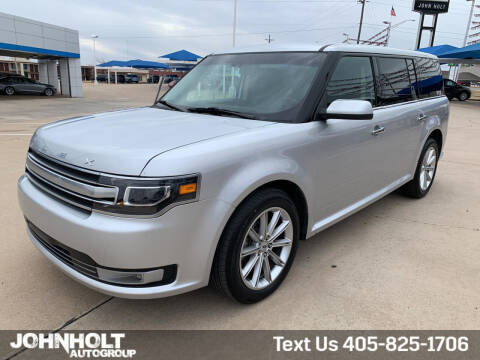 2019 Ford Flex for sale at JOHN HOLT AUTO GROUP, INC. in Chickasha OK