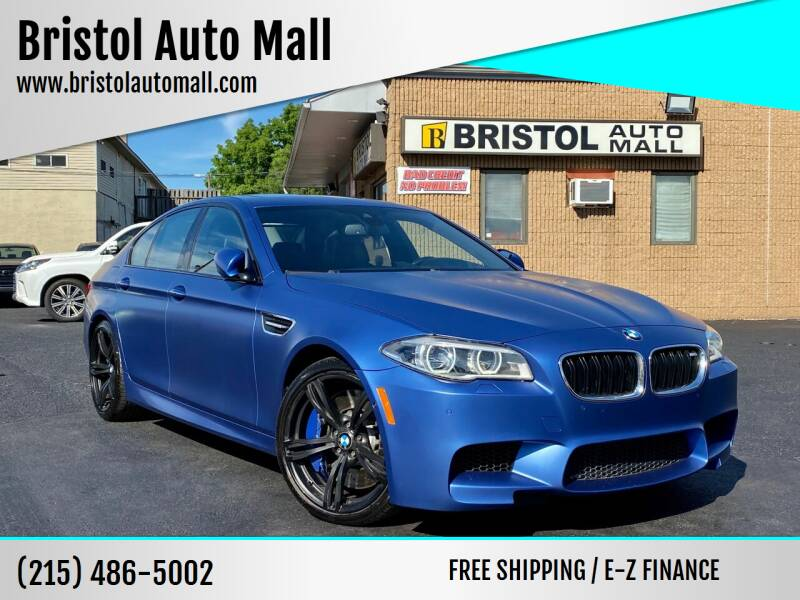 2016 BMW M5 for sale at Bristol Auto Mall in Levittown PA