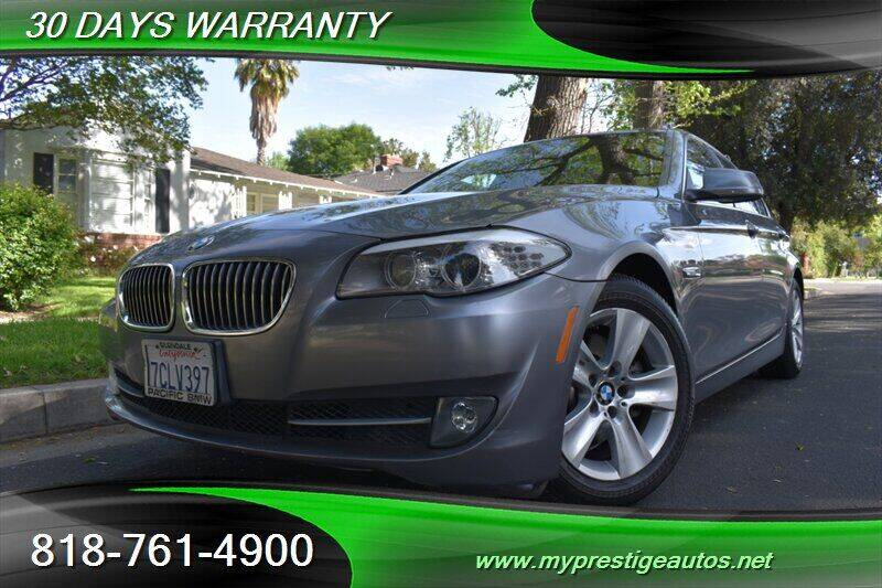 2013 BMW 5 Series for sale at Prestige Auto Sports Inc in North Hollywood CA