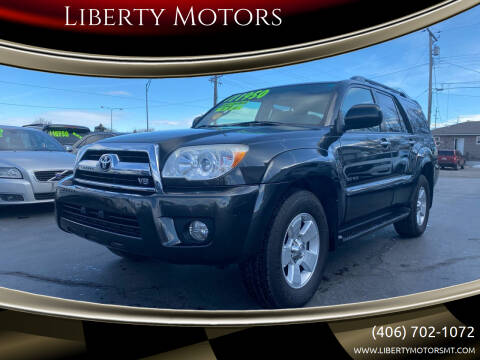 2007 Toyota 4Runner for sale at Liberty Motors in Billings MT