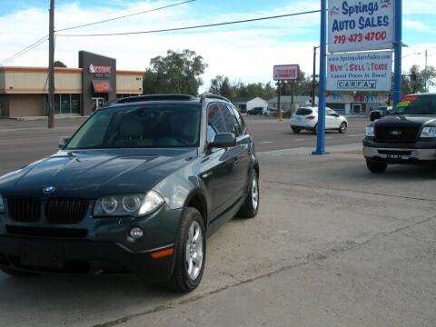 2008 BMW X3 for sale at Springs Auto Sales in Colorado Springs CO