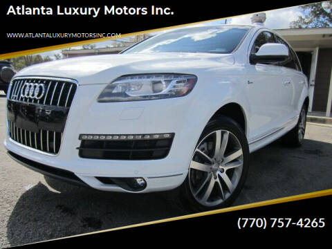 2014 Audi Q7 for sale at Atlanta Luxury Motors Inc. in Buford GA