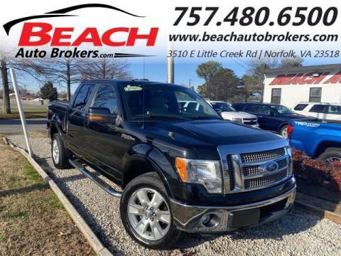 2011 Ford F-150 for sale at Beach Auto Brokers in Norfolk VA