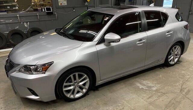 2015 Lexus CT 200h for sale at Past & Present MotorCar in Waterbury Center VT