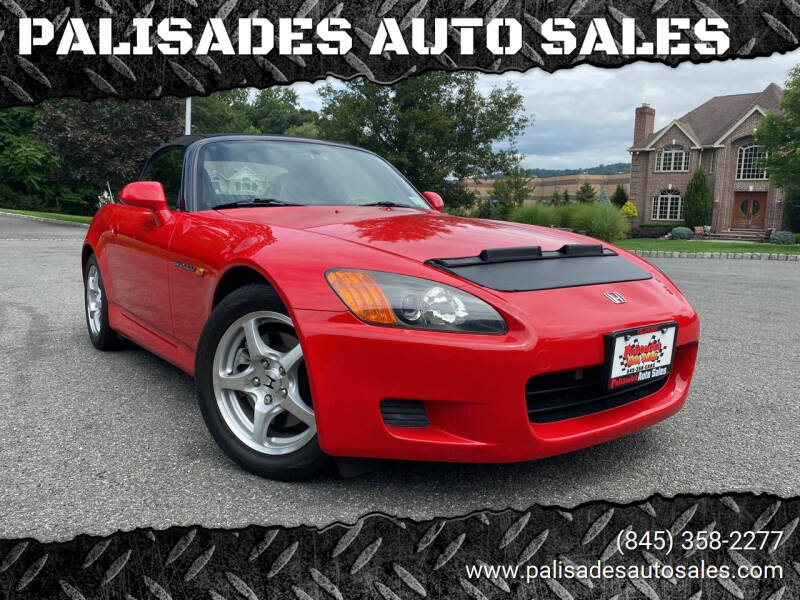 2001 Honda S2000 for sale at PALISADES AUTO SALES in Nyack NY