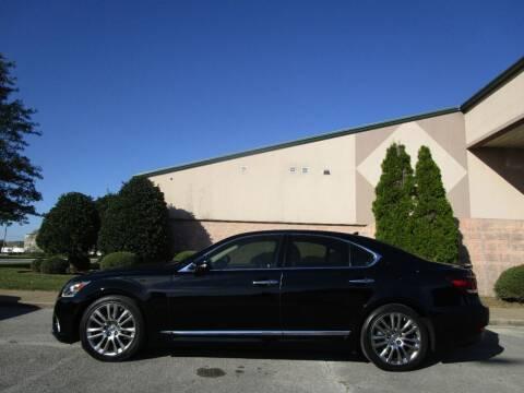 2013 Lexus LS 460 for sale at JON DELLINGER AUTOMOTIVE in Springdale AR