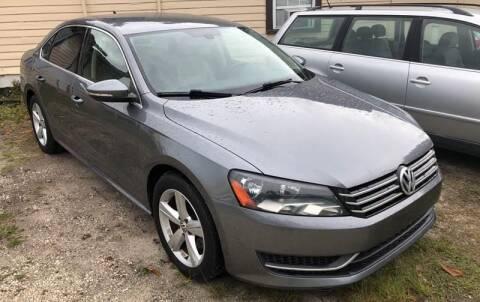 2012 Volkswagen Passat for sale at Castagna Auto Sales LLC in Saint Augustine FL