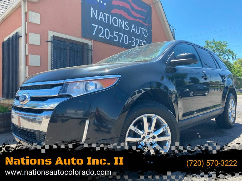 2014 Ford Edge for sale at Nations Auto Inc. II in Denver CO