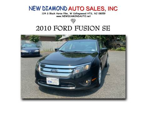 2010 Ford Fusion for sale at New Diamond Auto Sales, INC in West Collingswood Heights NJ