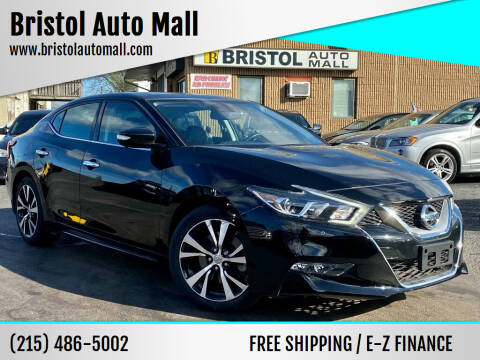 2017 Nissan Maxima for sale at Bristol Auto Mall in Levittown PA