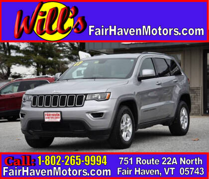 2017 Jeep Grand Cherokee for sale at Will's Fair Haven Motors in Fair Haven VT