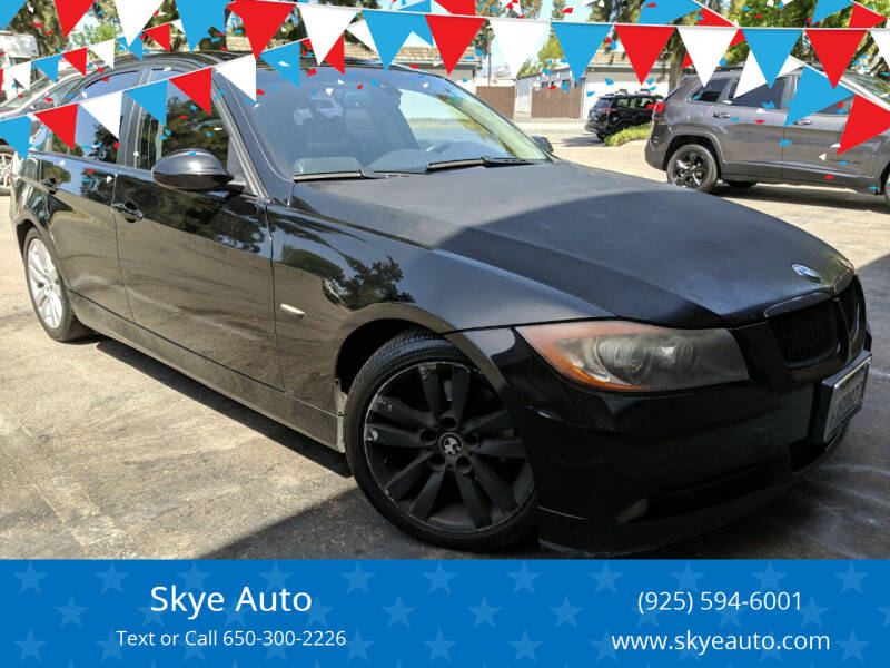 2007 BMW 3 Series for sale at Skye Auto in Fremont CA
