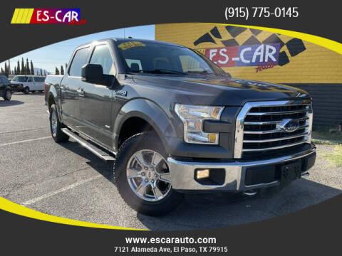 2015 Ford F-150 for sale at Escar Auto in El Paso TX