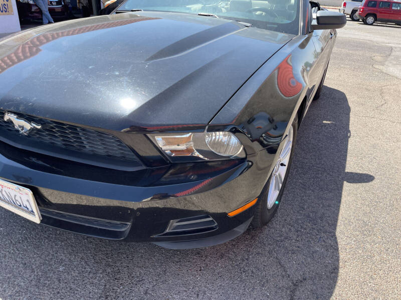 2010 Ford Mustang for sale at Best Buy Auto Sales in Hesperia CA