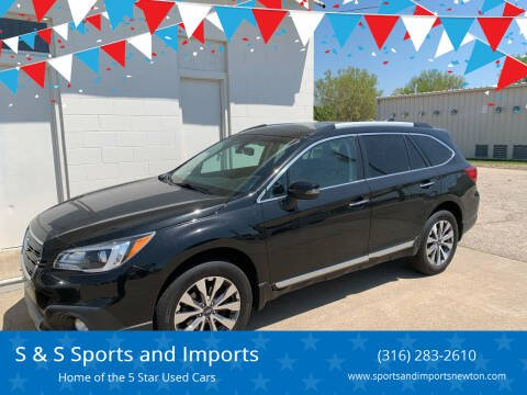 2017 Subaru Outback for sale at S & S Sports and Imports in Newton KS